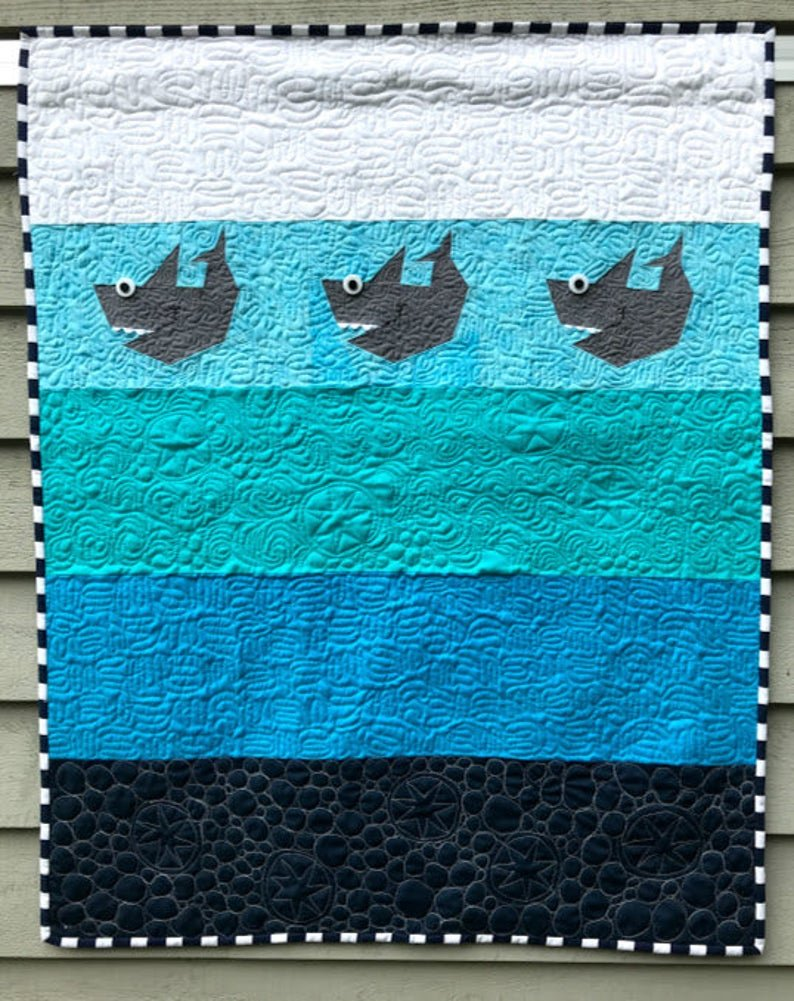 Baby Shark Quilt Pattern