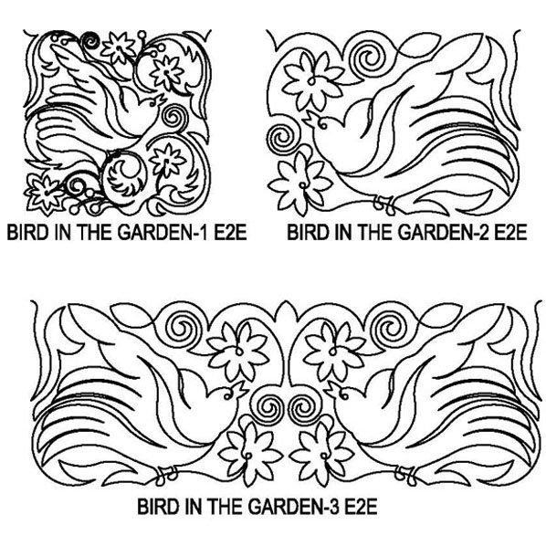 JBDG Bird in the garden package
