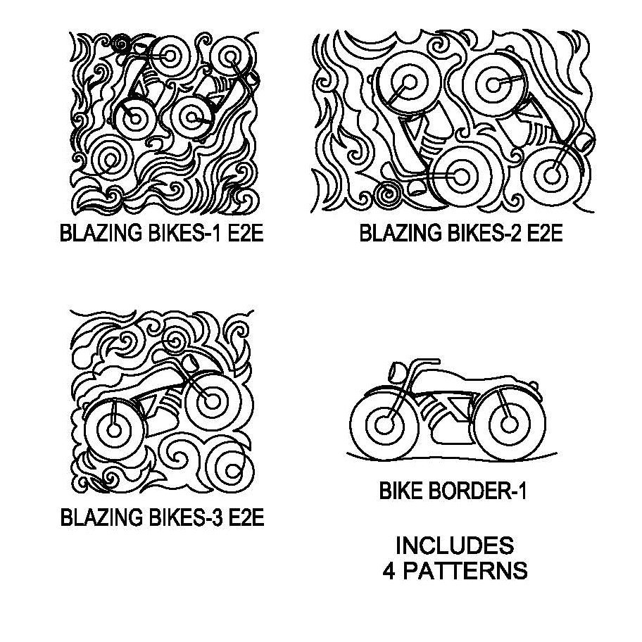 JBDG Blazing Bikes package