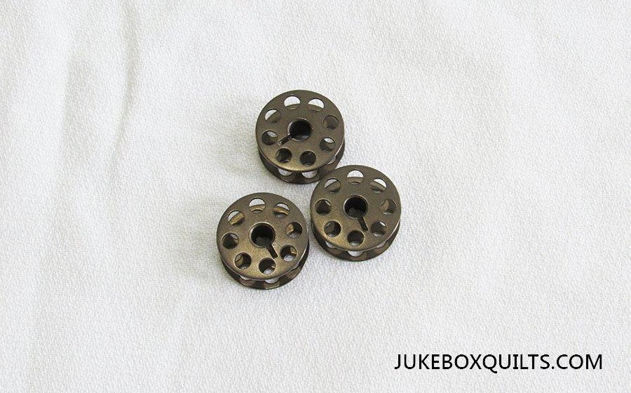 Bobbin Bronze w/Slot and Holes 'M Size