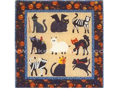 Pattern - Buster Cat Does Halloween