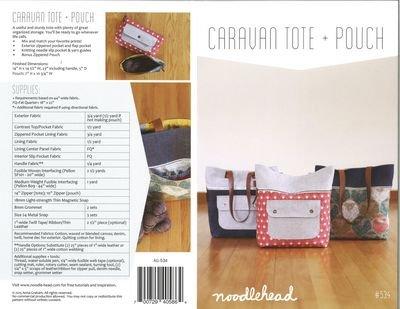 Caravan Tote & Pouch AG 534