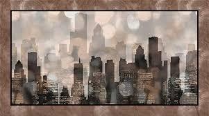 Artworks City Lights Panel Blk