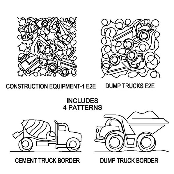 JBDG Construction Equipment package