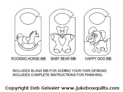JBDG Baby Bib package