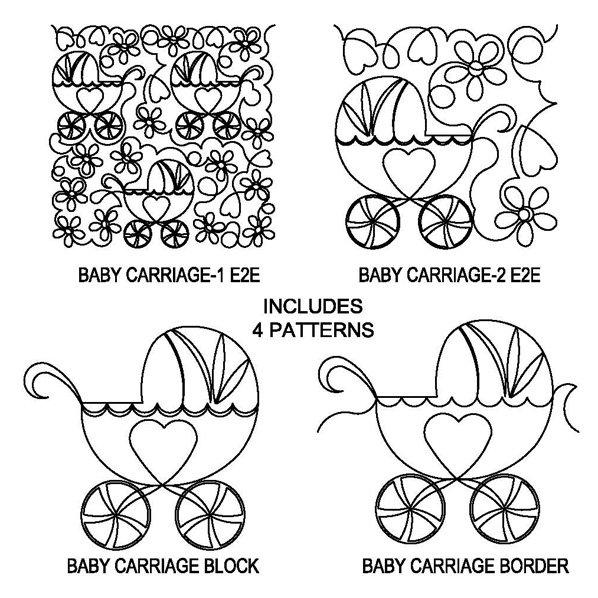 JBDG Baby carriage package