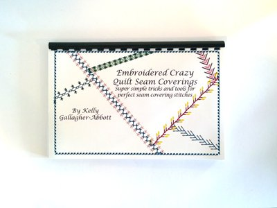 Embroidered Crazy Quilt Seam Coverings and Templates