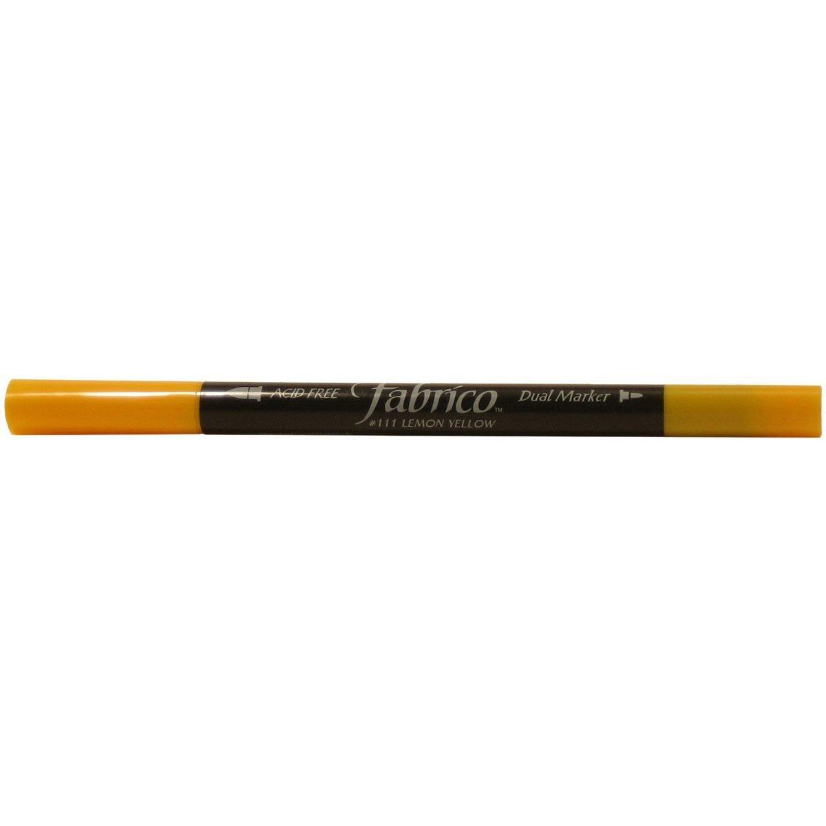 111 Lemon Yellow - Fabrico Dual Tip Marker