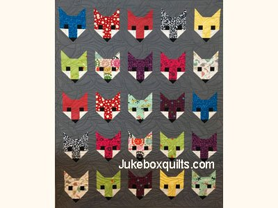 Fancy Fox Quilt Kit