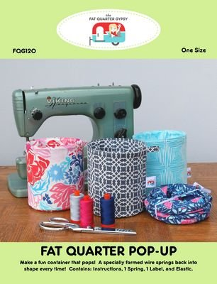Fat Quarter Pop Up Pattern