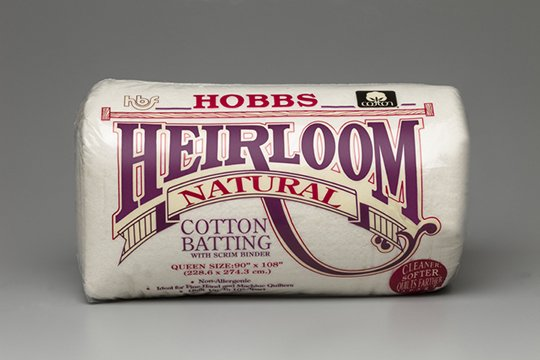 Hobbs Heirloom 100% Cotton (Natural) w/Scrim 120 x 30 yds