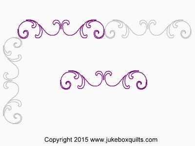 JB Baroque Curls Border