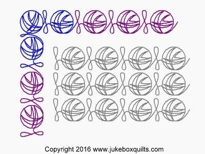 JB Yarn sashing set