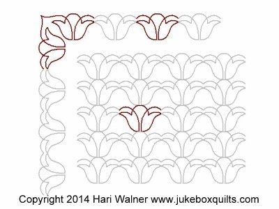 JBHW April Delight Border set