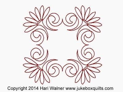 JBHW Aztec Flower Frame