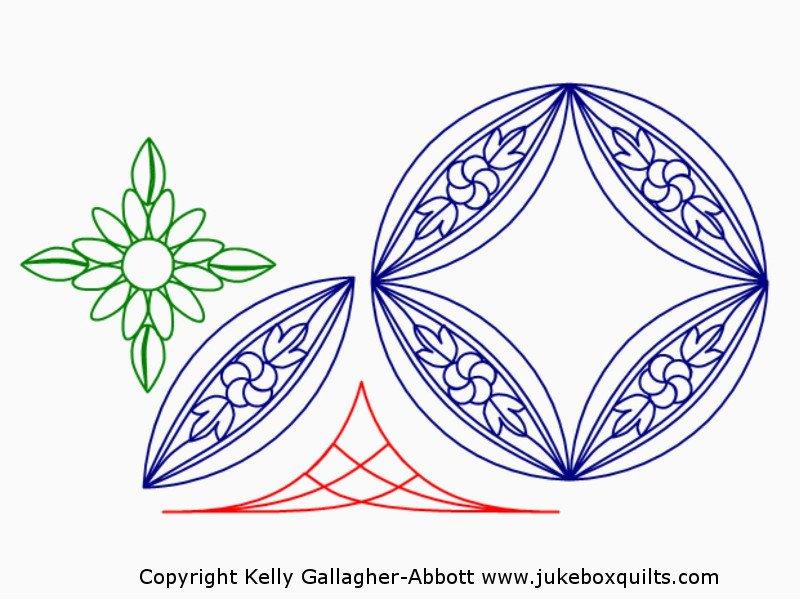 JBKGA DWR Folk Flower Set