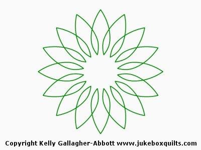 JBKGA Flower Array 2 Block