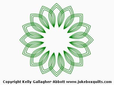 JBKGA Flower Array Block