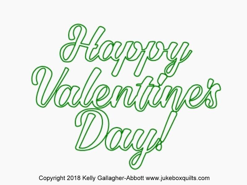 JBKGA Happy Valentines Day Text