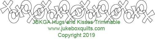 JBKGA Hugs & Kisses Trimmable