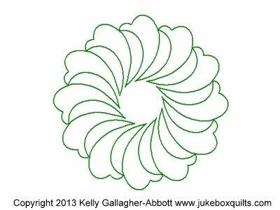 JBKGA Marlos Antq Feath Wreath