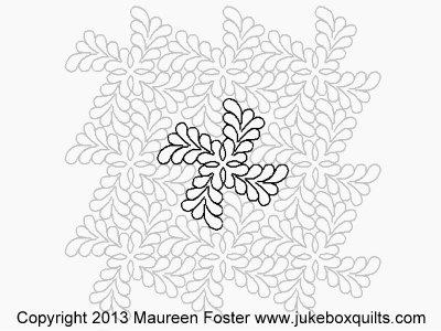 JBMF Feather Twister Block