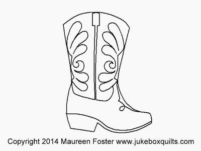 JBMF Western Boot Block