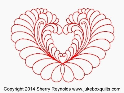 JBSR Feathered Heart Block