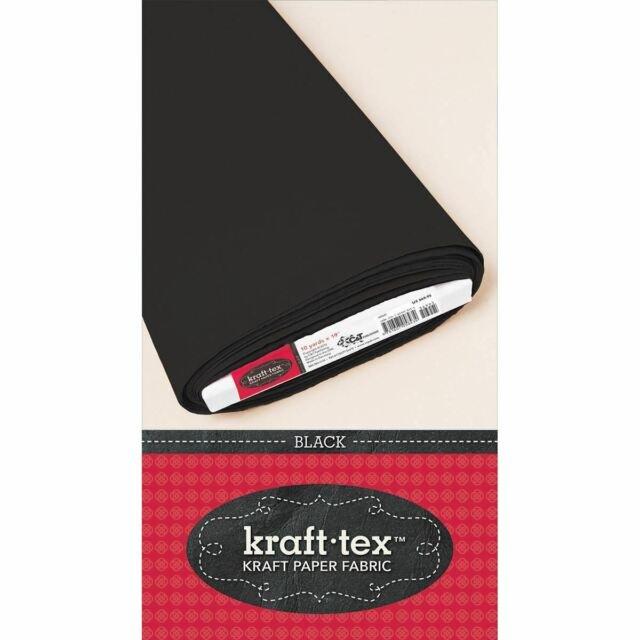 Kraft Tex Paper Fabric 19 Black  (19 x 21 sheets)
