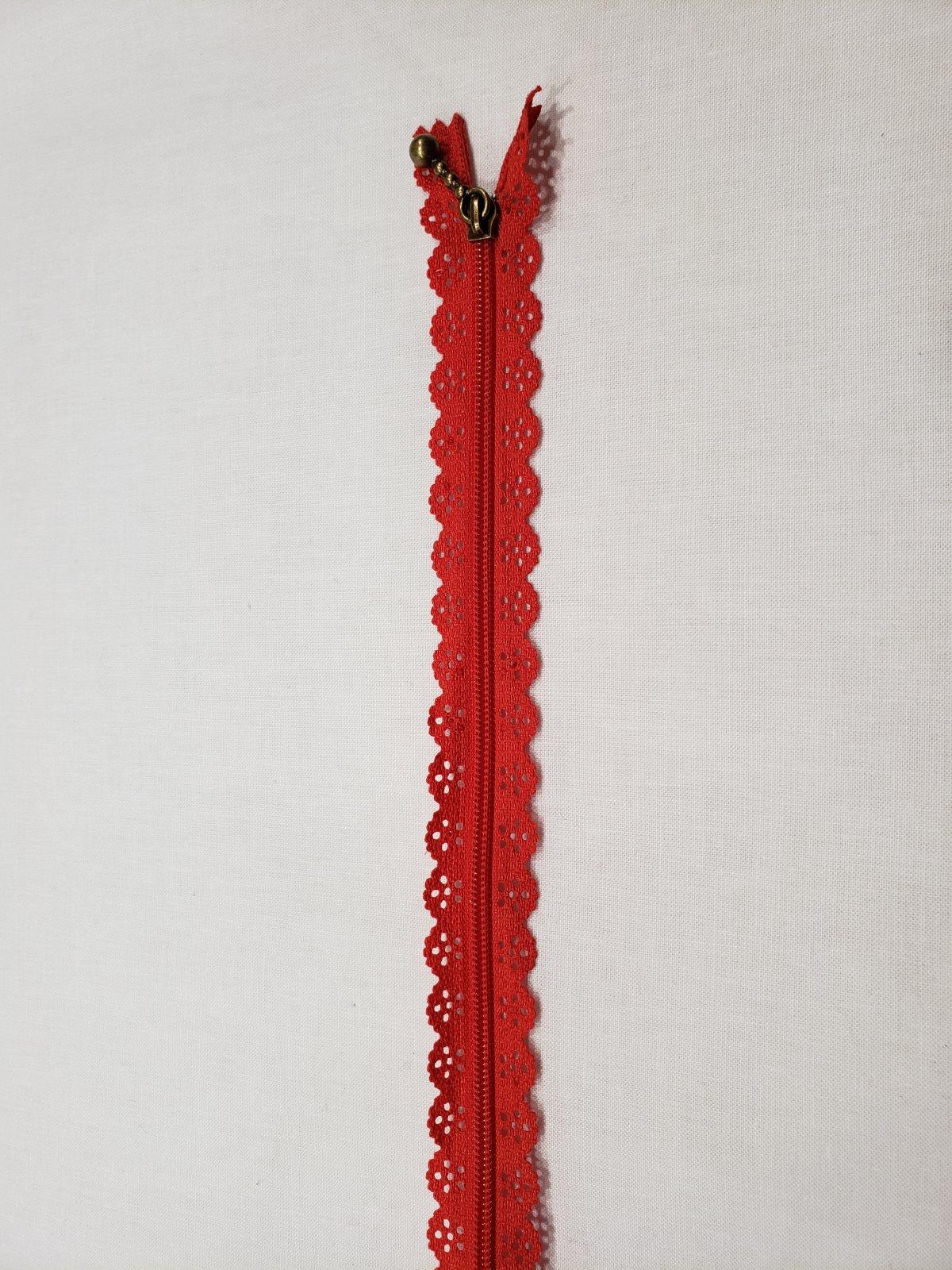 Lacy zipper 12