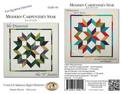 Modern Carpenters Star Ccqd 157