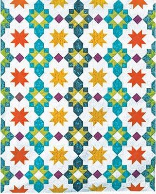 Moroccan Lanterns Quilt Pattern