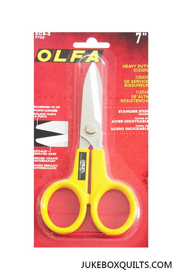 Scissors Serrated 7 Inch Olfa