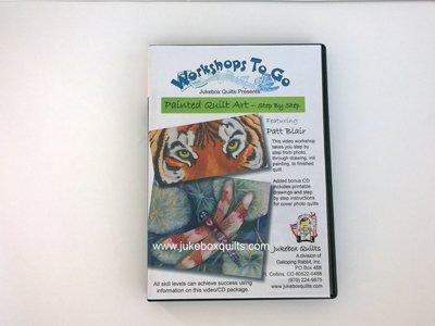 Painted Quilt Art DVD