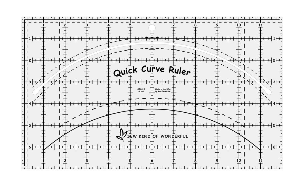 Ruler Quick Curve Sew Kind