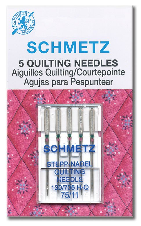 Needles Machine Quilting Asstd Schmetz
