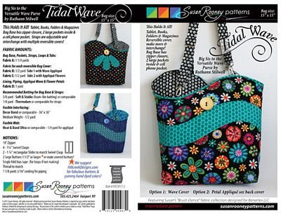 Tidal Wave Bag Pattern