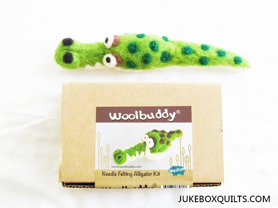 Woolbuddy Alligator Felting Kit