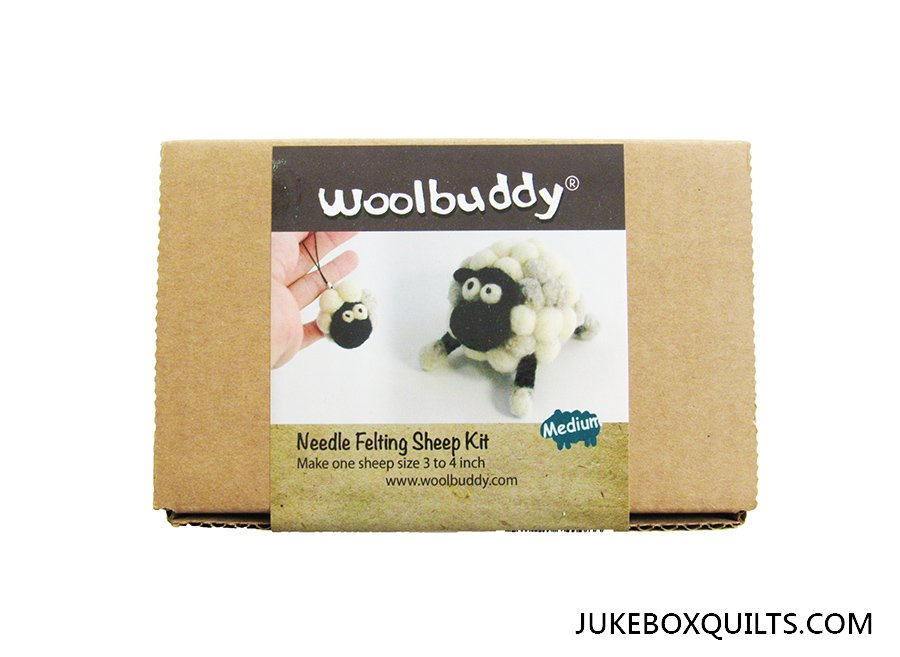 Woolbuddy Sheep Felting Kit