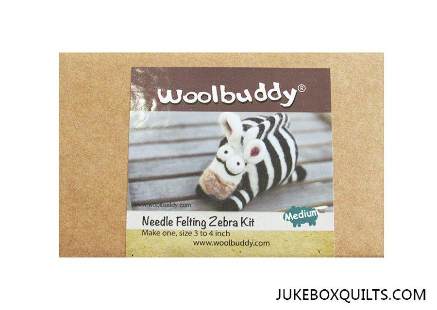 Woolbuddy Zebra Felting Kit