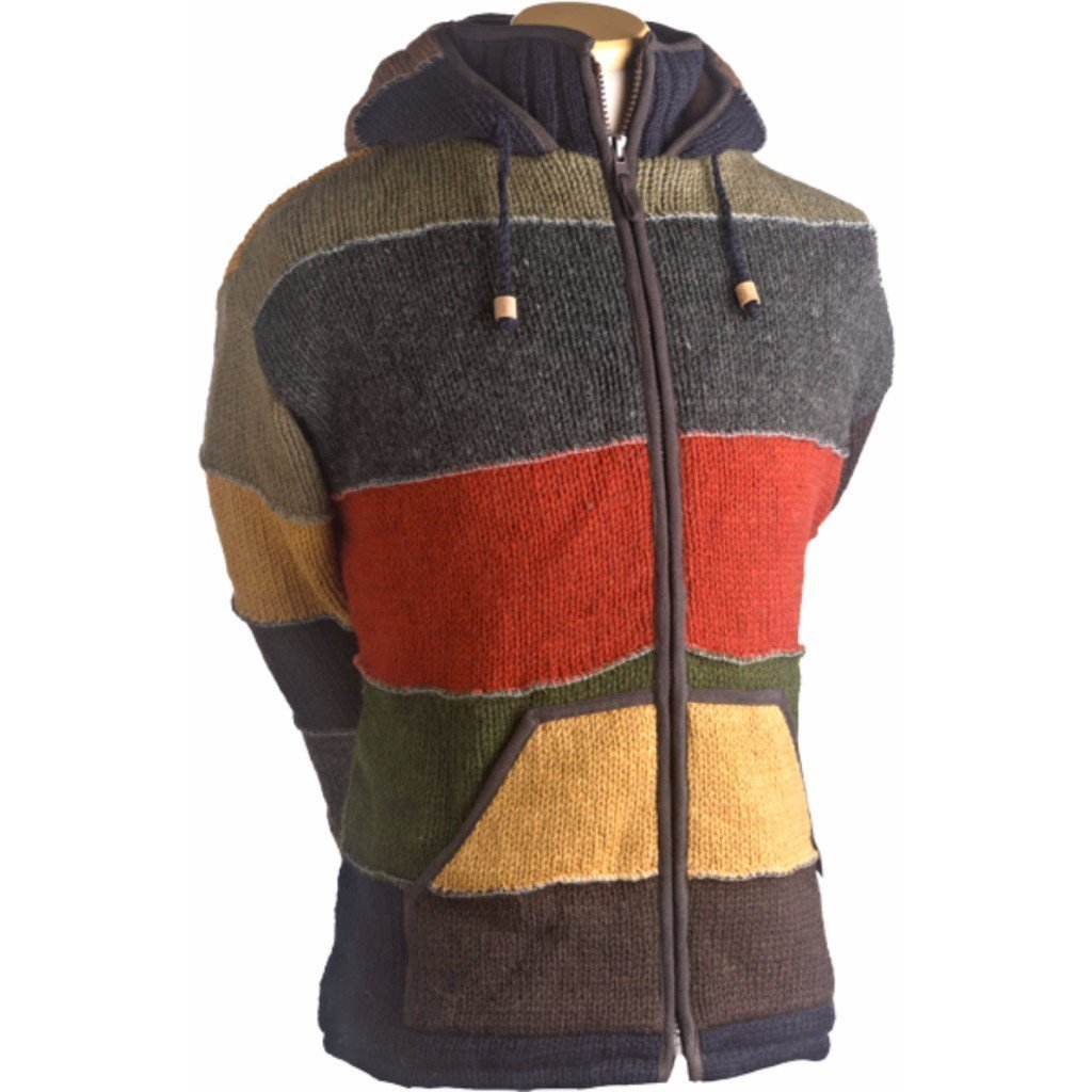 Laundromat Patchwork Men's Jacket