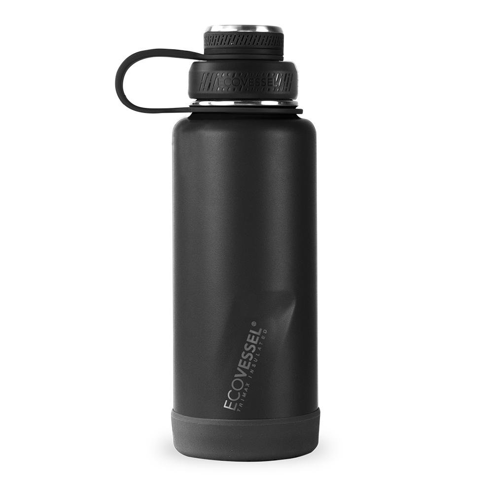 EcoVessel THE BOULDER Insulated Water Bottle with Strainer - 32 oz