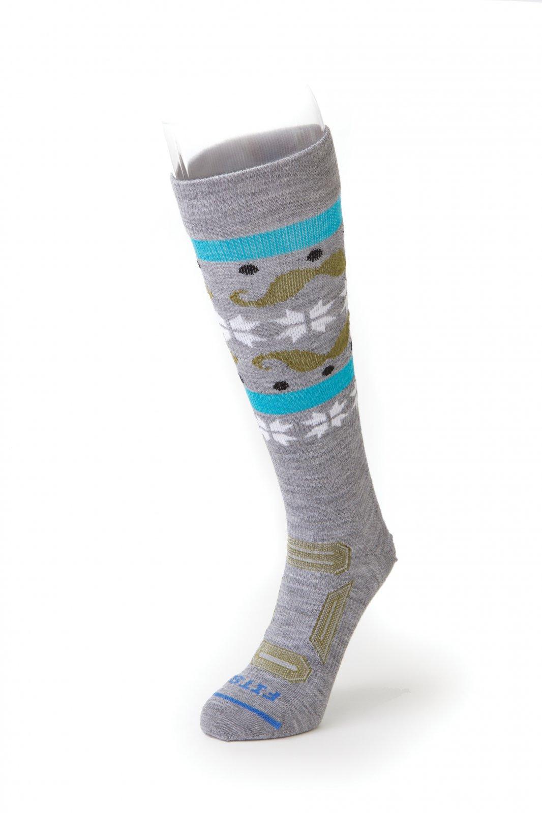 Fits Ultra Light OTC Mustache Ski Sock