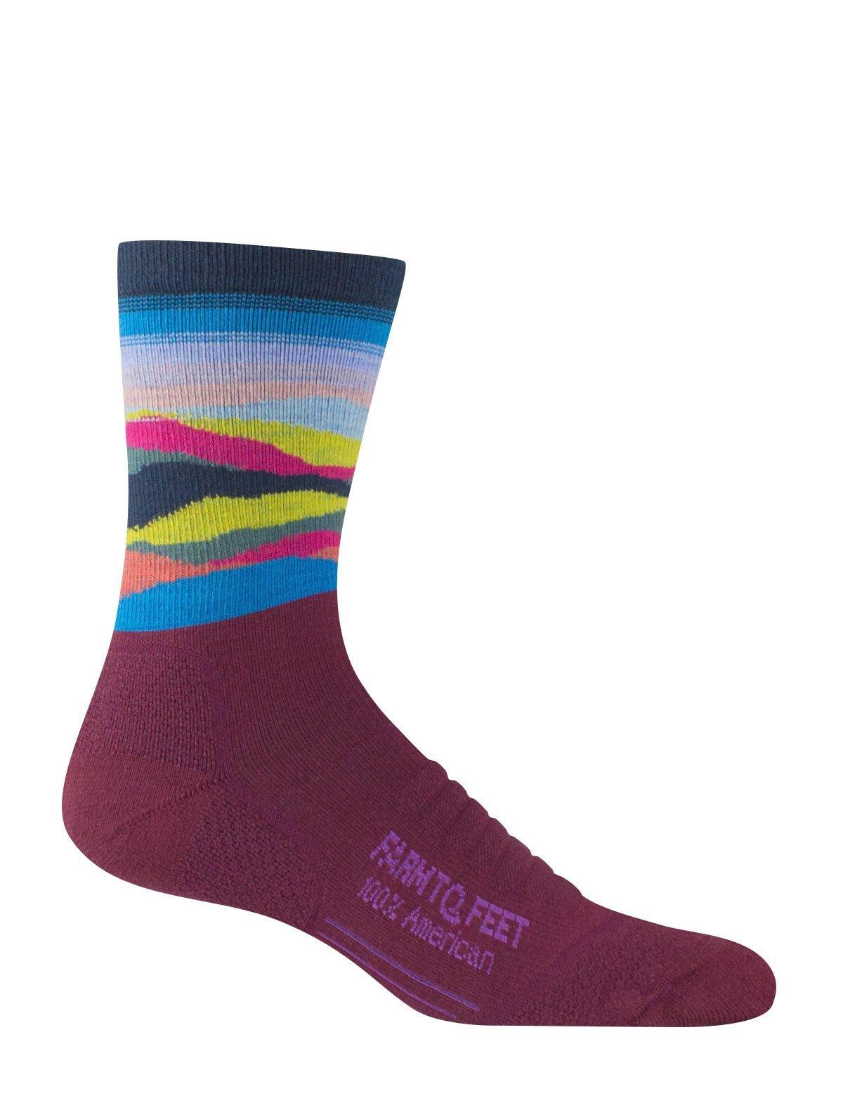 Farm To Feet Max Patch Lightweight 3/4 Women's Crew Sock