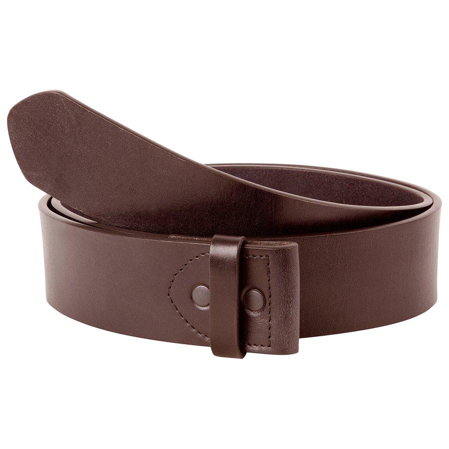 Mountain Khaki Leather Belt