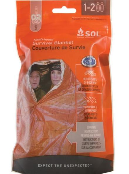 AMK SOL Survival Blanket 2pr