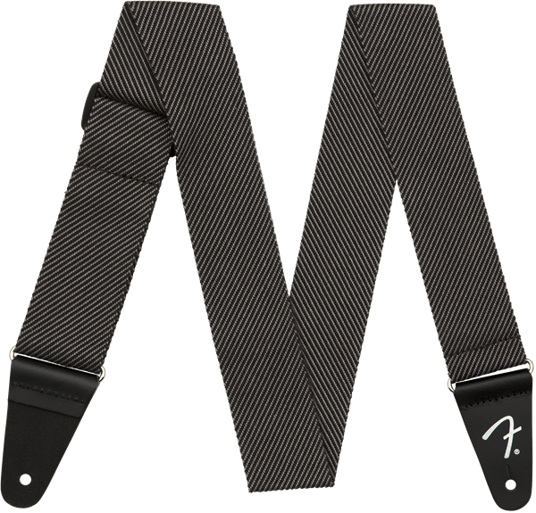 Fender Modern Tweed Strap Gray/Black 2