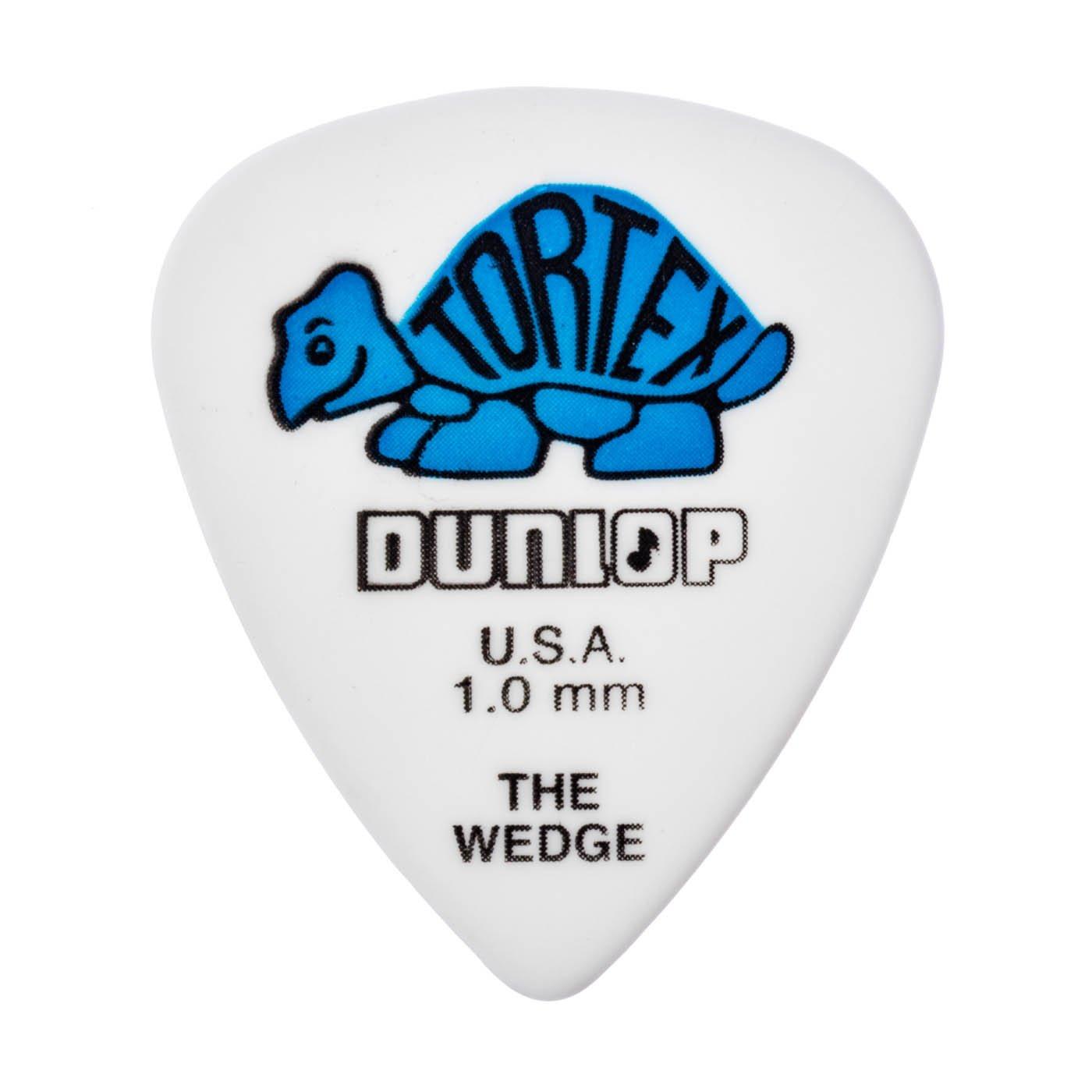 DUNLOP TORTEX WEDGE 1.0 PICKS 12pk