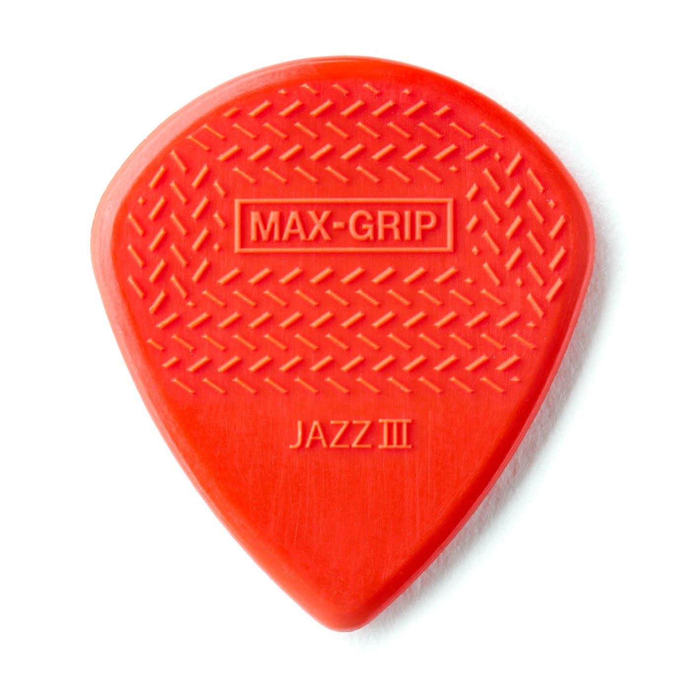 Dunlop Max-Grip Jazz III Nylon 6pk
