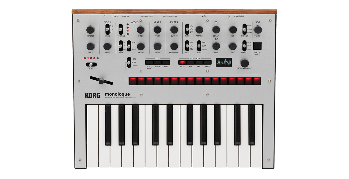 Korg Monophonic Analogue Synthesizer